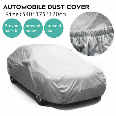 Heavy Duty Waterproof Car Cover Nylon Lining Scratch Proof Extra Large Size XL