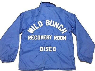 Vintage Wild Bunch Recovery Room Disco Jacket  70s 80s  Joe King Embroidered L