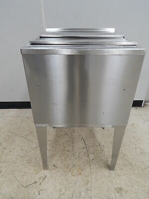 """S/S Bar Ice Bin with 9-Circuit Cold Plate, 23"""" Wide"""