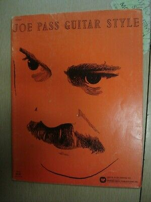 1970 JOE PASS GUITAR STYLE BOOK Learn to play Pass 58 pg