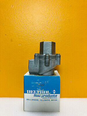 "Deltrol 10122-61 (EV30A2) 1/2"" Inlet Quick Exhaust Valve. New In Box!"