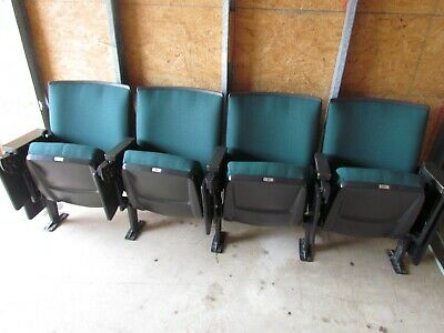 Movie Chairs Seat Auditorium Theater / Church Seating 4 Each