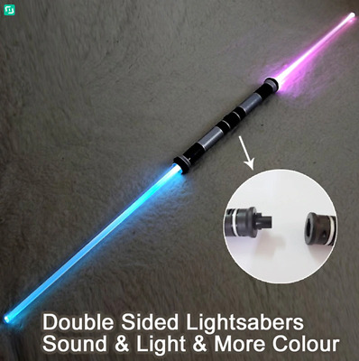New Star Wars Double Light Saber Lightsaber Darth Maul Mini Bladed Dual Staff