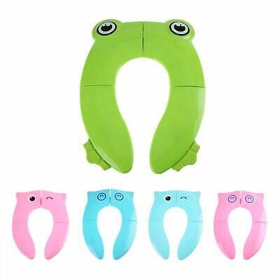 Folding Potty Seat Pad Portable Baby Toddler Toilet Training Seat Cover Cushion