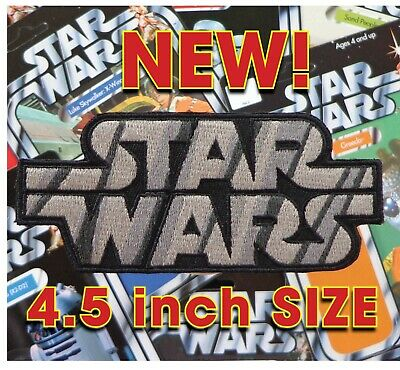 "Kenner STAR WARS '78 Vintage style toy logo 4.5"" iron-on patch +GLOBAL SHIP"