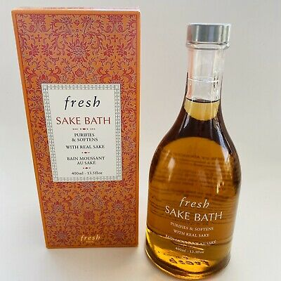 Fresh Sake Bath 400ml 13.5oz Sealed