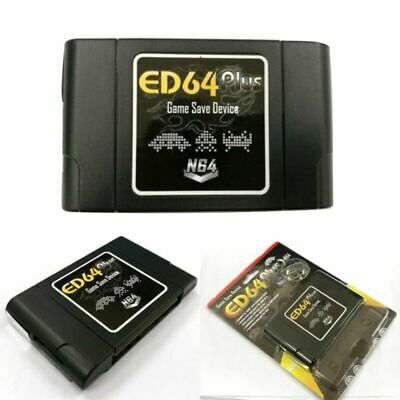 PAL/NTSC ED64 Plus Game Save 1*Adapter 8GB SD Card USA-JAPAN-EUROPE System Games