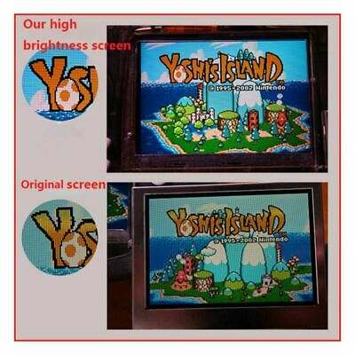 GBA 10-Level Brightness Screen IPS Backlight LCD fr Game Boy Advance Console BUS