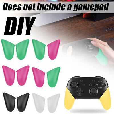 1Pair Non-slip Handle Holder Gamepad Grip DIY For Nintendo Switch Pro Controller