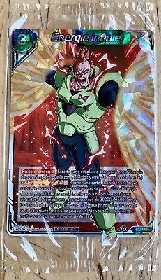 Carte Dragon Ball Super Card Énergie Infinie PR 174 Promo Foil Sous Blister DBS