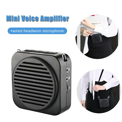 Portable Bluetooth Voice Amplifier Microphone Booster Loundspeaker for Promotion