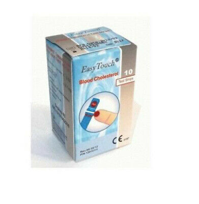 3 PACK of Easy Touch Blood Cholesterol Test Strips Monitor 30 Strips