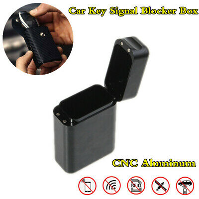 Remote Car Key FOB Protecting Box Keyless Entry Signal Blocker RFID Shield Case