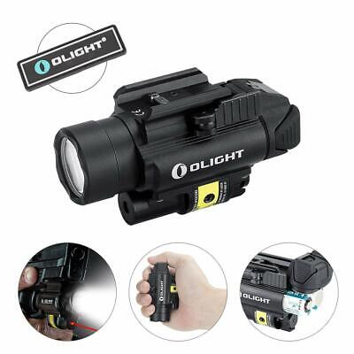 OLIGHT PL-2RL 1200 Lumens Cree XHP35 HI Red Laser Gun Light w/ CR123A Battery
