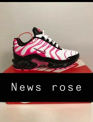 BASKETS NIKE AIR Max Plus ROSE NEUVES POINTURE 37 EUR 71