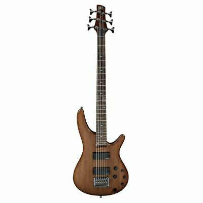 Ibanez SRC6-WNF Walnut Flat 6 String Electric Bass Guitar