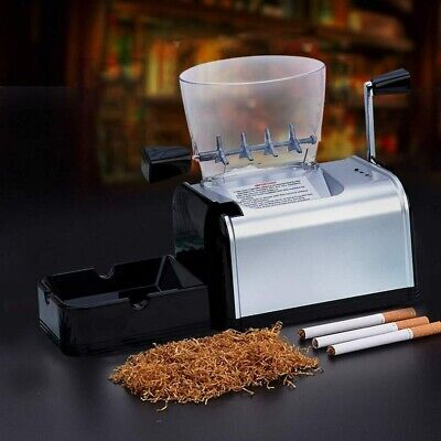 8mm Cigarette Rolling Machine Electric Automatic Tobacco Roller Injector Maker