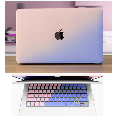 """Apple Macbook Air Pro 13 15/"""" Inch Touch Bar Case,Matte Hard Shell Case Cover YH"""