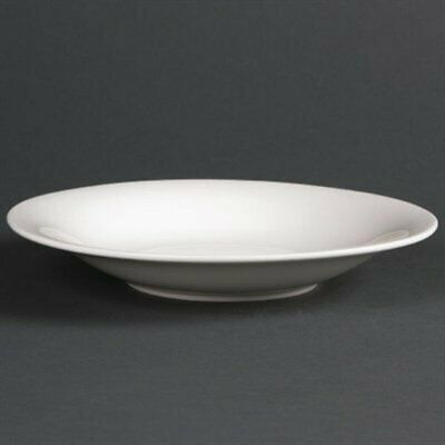 Lumina Fine China Coupe Bowls 205mm (Pack of 6) DP967 [BX5F]