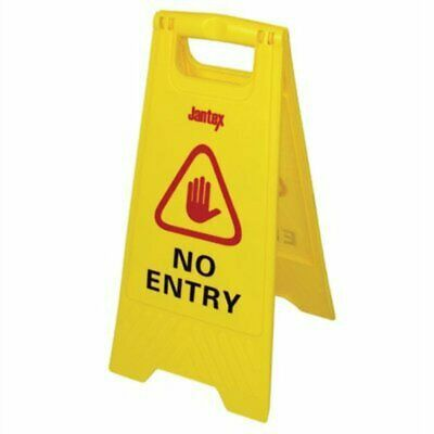 Jantex No Entry Safety Sign L434 [JBPJ]