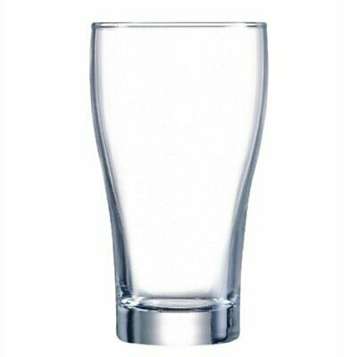 Arcoroc Conical Beer Glasses 425ml (Pack of 48) (Pack of 48) GC801 [V6VB]
