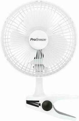 """Pro Breeze® Professional 6"""" Mini Clip Fan For Home, Bed, Office And Desk Smal"""