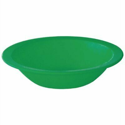 Kristallon Polycarbonate Bowls Green 172mm (Pack of 12) CB772 [74EB]