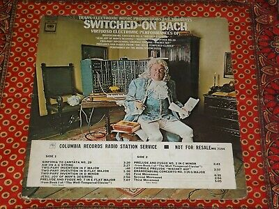 Walter (Wendy) Carlos - Switch-on Bach Columbia Masterworks LP 1968 1st Pressing