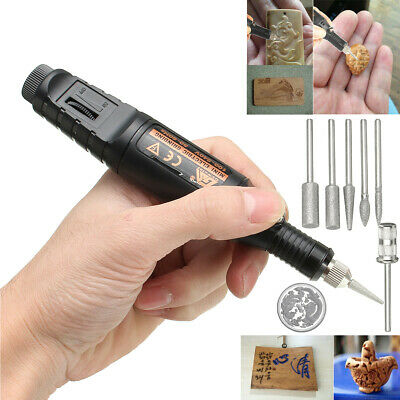 Micro Electric Engraving Engraver Pen Carve Tool For Jewellery Metal Glass Ston
