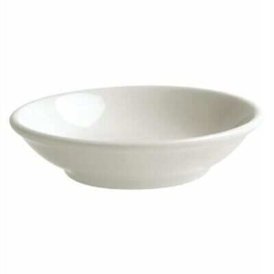Australian Fine China Bistro Soy Dishes 96mm (Pack of 48) GH782 [51DN]