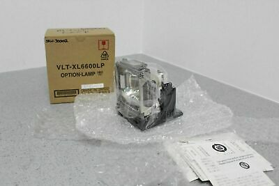 for Mitsubishi LVP-X100A Projector Lamp Replacement Assembly with Genuine Original OEM Ushio NSH Bulb Inside IET Lamps
