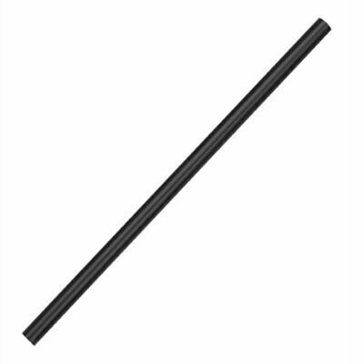 Fiesta Green Compostable CPLA Cocktail Stirrer Straws Black (Pack of 250) CT485