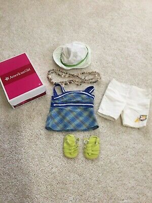 American Girl Lanie Garden Outfit NIB Limited Edition Retired