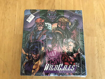 WILDCATS CHROMIUM FACTORY SEALED BOX 1994 Trading Card WILDC.A.T.S Wildstorm