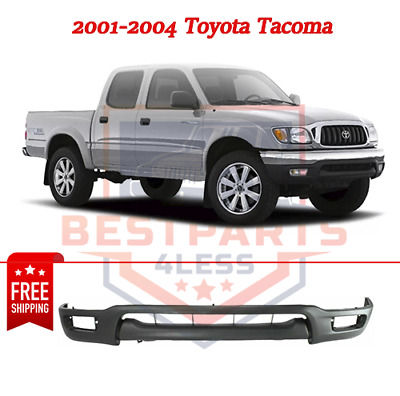 For 2001-2004 Tacoma Front Bumper Face Bar Primed Black