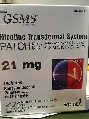 Nicotine patches 21mg Count14