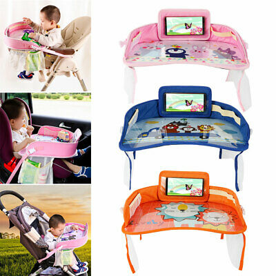 Baby Car Seat Travel Play Tray - Kids Activity Tray Table - Toddler Travel Toys