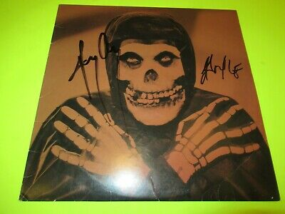 Signed / Autographed ( Jerry Only & Doyle ) Misfits Collection 2 Lp
