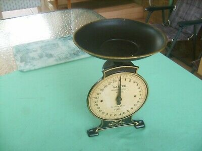"""VINTAGE """"SALTER""""no 46"""" SCALE"""" WORKS FINE VERY COLLECTABLE,EARLY FIFTIES"""