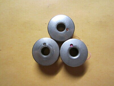 3 Singer Vintage Sewing Machine Class 66 Bobbins for 66, 99, 101, 201, 401, 403+