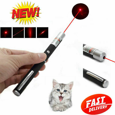 650nm AAA Pro Astronomy Red Laser Pointer Pen Visible Beam Light Mini Pet Toy