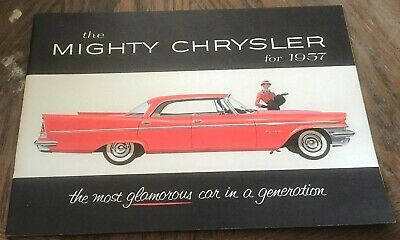1957 Chrysler Brochure - 22 Pages - Near Mint