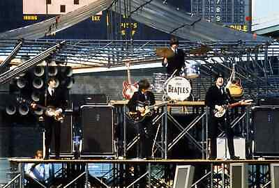 The Beatles Live in Chicago 24x36 Poster