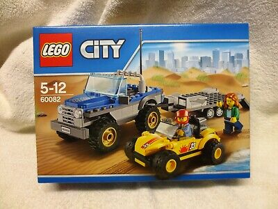 Lego City 60082 Dune Buggy And Trailer – New Unopened Box