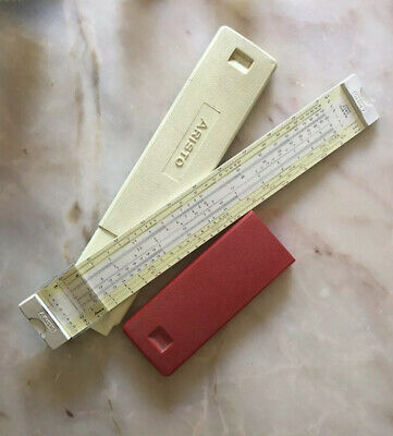 Vintage Collectable Aristo  Slide Rule Ruler In Original Box Germany