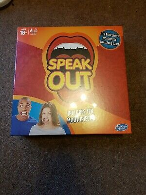 Hasbro Speak Out Board Game, Sealed.