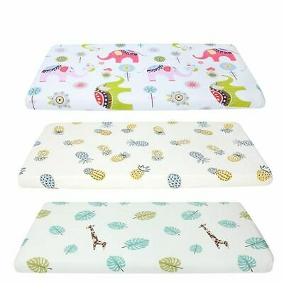 Baby Bed Crib Sheet Mattress Cover Protector For Baby Woven Paddy Fitted Sheets