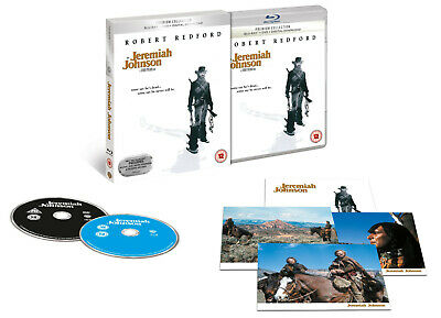 Blu Ray and DVD  JEREMIAH JOHNSON. Premium collection. Robert Redford. New.