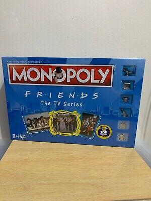 Friends The TV Series Monopoly 2019 Hasbro Board Game Factory