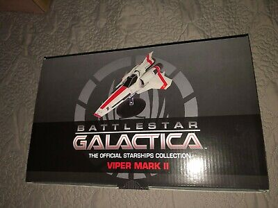 Battlestar Galactica Viper Mark Ii Eaglemoss Hero Collector Series New